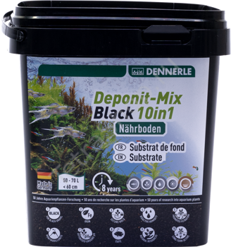 Подкормка DENNERLE Deponit-Mix Black 10in1 2,4 кг