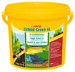 Корм Sera Cichlid Green XL 3800 мл