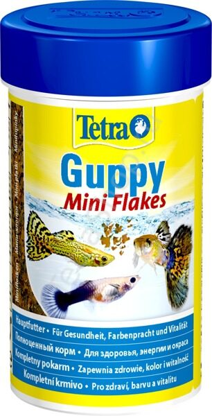 Корм Tetra Guppy Mini Flakes 100 мл