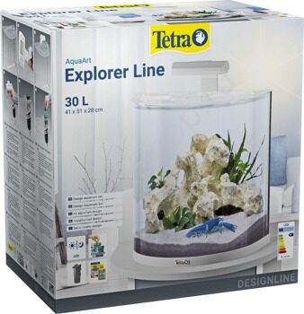 Аквариум Tetra AquaArt Explorer Line Crayfish 30 White Edition