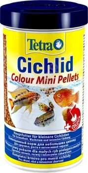 Корм Tetra Cichlid Colour Mini Pellets 500 мл