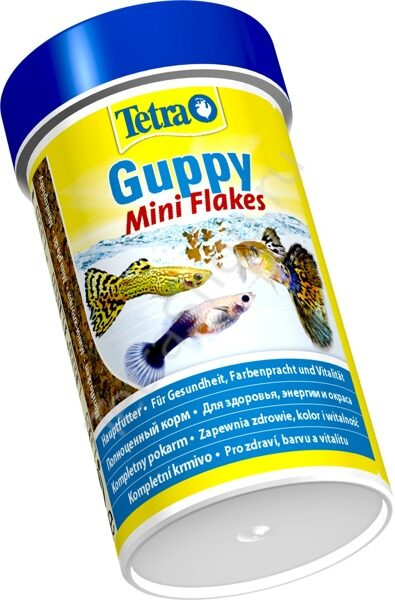 Tetra Guppy Mini Flakes 100 мл 3