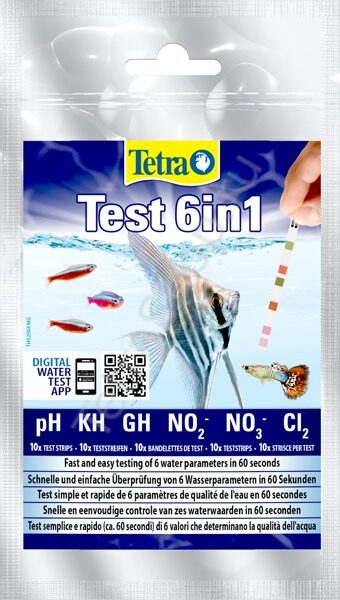 Тест полоски Tetra Test 6in1 10 шт.