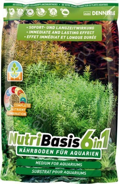 Подкормка Dennerle NutriBasis 6 in 1 4,8 кг